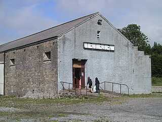 The former railway station which housed the set dancing class in Ballaghadereen.