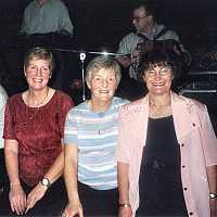 Maureen Culleton and friends in Longford.